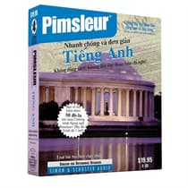 Pimsleur English for Vietnamese Speakers Quick & Simple Course - Level 1 Lessons 1-8 by Paul Pimsleur audiobook