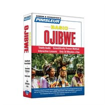 Pimsleur Ojibwe Basic Course - Level 1 Lessons 1-10 by Paul Pimsleur audiobook