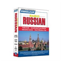 Pimsleur Russian Basic Course - Level 1 Lessons 1-10 by Paul Pimsleur audiobook