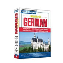 Pimsleur German Basic Course - Level 1 Lessons 1-10 by Paul Pimsleur audiobook