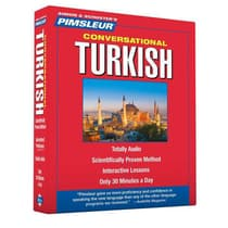 Pimsleur Turkish Conversational Course - Level 1 Lessons 1-16 by Paul Pimsleur audiobook