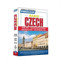 Pimsleur Czech Basic Course - Level 1 Lessons 1-10 by Paul Pimsleur audiobook