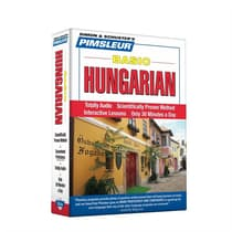 Pimsleur Hungarian Basic Course - Level 1 Lessons 1-10 by Paul Pimsleur audiobook
