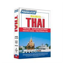 Pimsleur Thai Basic Course - Level 1 Lessons 1-10 by Paul Pimsleur audiobook