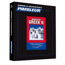 Pimsleur Greek (Modern) Level 2 by Paul Pimsleur audiobook