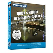 Pimsleur Portuguese (Brazilian) Quick & Simple Course - Level 1 Lessons 1-8 by Paul Pimsleur audiobook