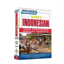Pimsleur Indonesian Basic Course - Level 1 Lessons 1-10 by Paul Pimsleur audiobook