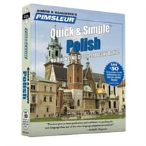 Pimsleur Polish Quick & Simple Course - Level 1 Lessons 1-8 by Paul Pimsleur audiobook