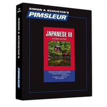 Pimsleur Japanese Level 3 by Paul Pimsleur audiobook