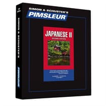 Pimsleur Japanese Level 2 by Paul Pimsleur audiobook