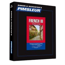 Pimsleur French Level 3 by Paul Pimsleur audiobook