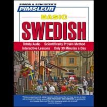 Pimsleur Swedish Basic Course - Level 1 Lessons 1-10 by Paul Pimsleur audiobook