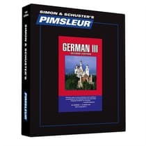 Pimsleur German Level 3 by Paul Pimsleur audiobook