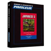 Pimsleur Japanese Level 5 by Paul Pimsleur audiobook