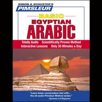 Pimsleur Arabic (Egyptian) Basic Course - Level 1 Lessons 1-10 by Paul Pimsleur audiobook