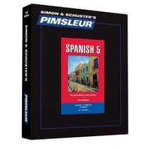 Pimsleur Spanish Level 5 by Paul Pimsleur audiobook