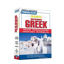 Pimsleur Greek (Modern) Basic Course - Level 1 Lessons 1-10 by Paul Pimsleur audiobook