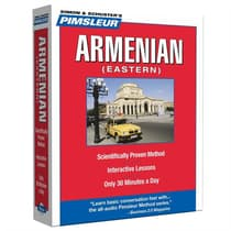 Pimsleur Armenian (Eastern) Level 1 by Paul Pimsleur audiobook