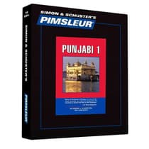 Pimsleur Punjabi Level 1 by Paul Pimsleur audiobook