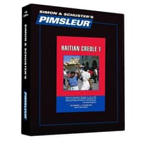 Pimsleur Haitian Creole Level 1 by Paul Pimsleur audiobook