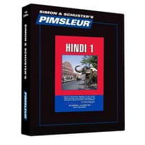 Pimsleur Hindi Level 1 by Paul Pimsleur audiobook