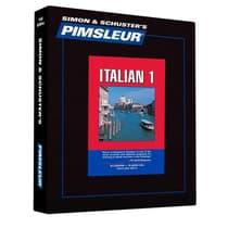 Pimsleur Italian Level 1 by Paul Pimsleur audiobook