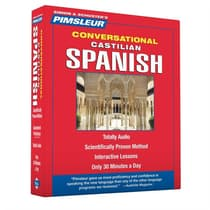 Pimsleur Spanish (Castilian) Conversational Course - Level 1 Lessons 1-16 by Paul Pimsleur audiobook
