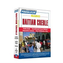 Pimsleur Haitian Creole Basic Course - Level 1 Lessons 1-10 by Paul Pimsleur audiobook