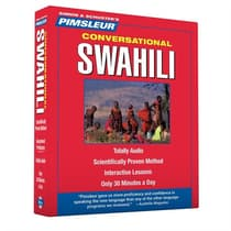 Pimsleur Swahili Conversational Course - Level 1 Lessons 1-16 by Paul Pimsleur audiobook