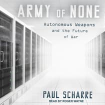 Army of None by Paul Scharre audiobook