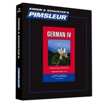 Pimsleur German Level 4 by Paul Pimsleur audiobook