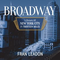Broadway by Fran Leadon audiobook