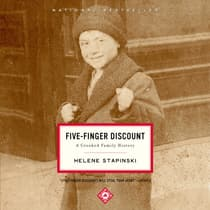 Five-Finger Discount by Helene Stapinski audiobook