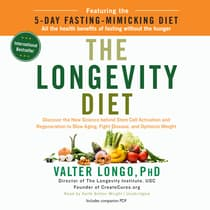 The Longevity Diet by Valter Longo audiobook