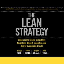 The Lean Strategy by Michael Balle audiobook