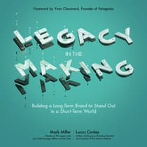 Legacy in the Making by Lucas Conley audiobook
