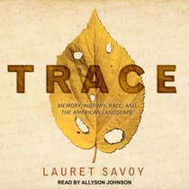 Trace by Lauret Savoy audiobook