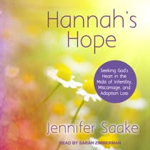 Hannah's Hope by Jennifer Saake audiobook