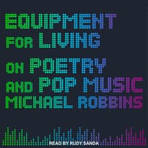 Equipment for Living by Michael Robbins audiobook