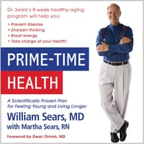 Prime-Time Health by William Sears audiobook