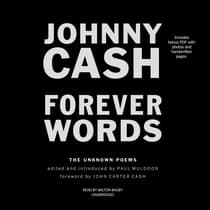Forever Words by Johnny Cash audiobook