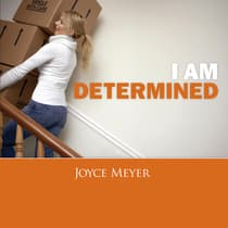 I Am Determined by Joyce Meyer audiobook