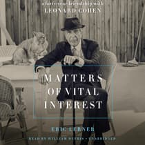 Matters of Vital Interest by Eric Lerner audiobook
