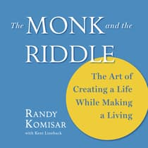 The Monk and the Riddle by Randy Komisar audiobook