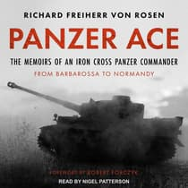 Panzer Ace by Richard Freiherr von Rosen audiobook