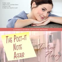 The Post-it Note Affair by Justine Avery audiobook