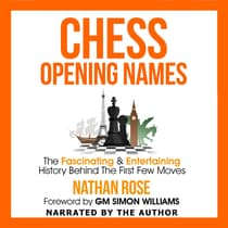 Chess Opening Names by Nathan Rose audiobook