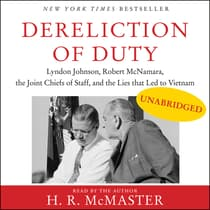 Dereliction of Duty by H. R. McMaster audiobook