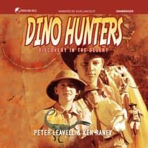 Dino Hunters by Peter Leavell audiobook