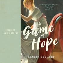 The Game of Hope by Sandra Gulland audiobook